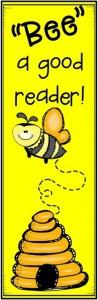 Bee bookmarker