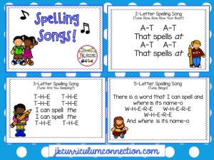 Spelling 4-pic combo